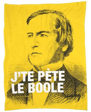 Boole Fleece Blanket