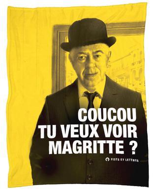 Magritte Fleece Blanket