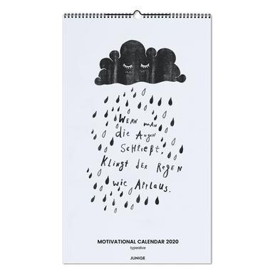 Motivational Calendar 2020 - typealive wandkalender
