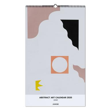 Abstract Art Calendar 2020 - LEEMO Wall Calendar