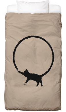 Cat Circle Kids' Bedding