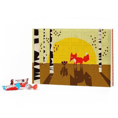 Calendrier Avent Kinder 2020.Mountain Fox 2019 Chocolate Advent Calendar Kinder Juniqe Uk
