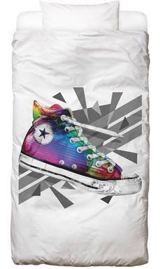 All Star of My Life Rainbow Dekbedovertrekset