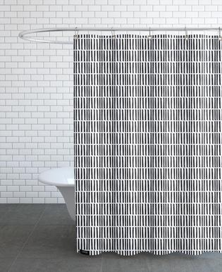 Grass -Duschvorhang