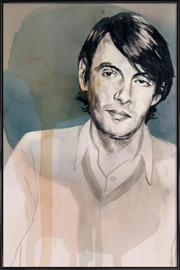 Fabrizio De Andre Framed Poster
