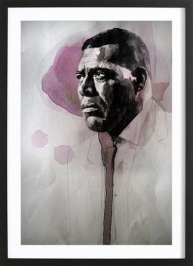 Howlin Wolf Framed Print