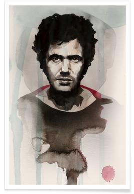 Lucio Battisti Poster