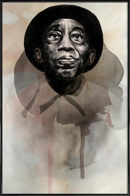 Mississippi John Hurt Framed Poster