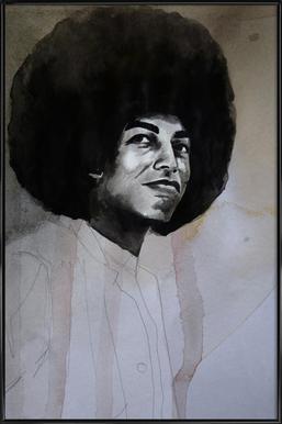 Angela Davis Framed Poster
