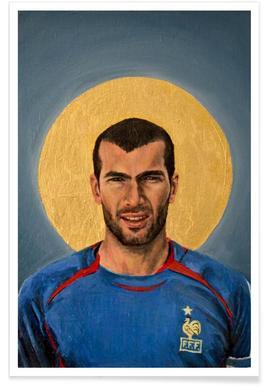 Football Icon - Zinedine Zidane
