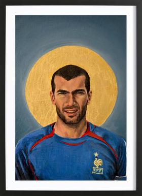 Football Icon - Zinedine Zidane