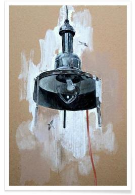Velo Grablje - Gas Lamp Poster