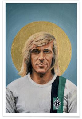 Football Icon - Günter Netzer