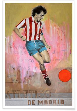 One Love - Atletico de Madrid Poster