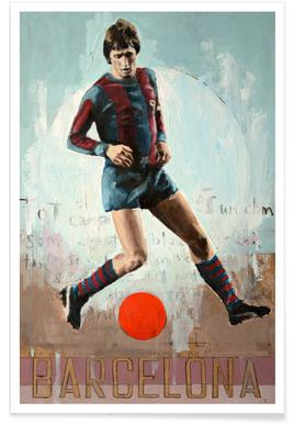 One Love Barca Poster