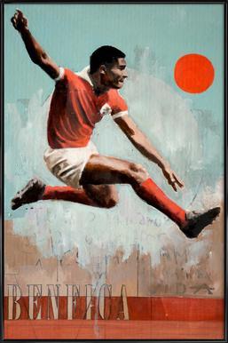 One Love Benfica Framed Poster