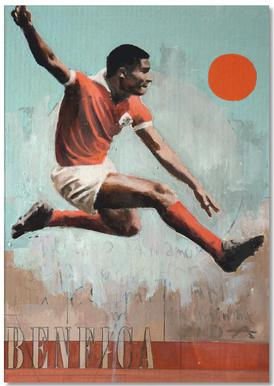 One Love Benfica Notepad