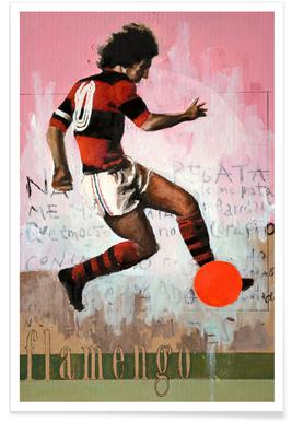 One Love Flamengo Poster