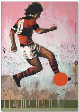 One Love Flamengo Notebook