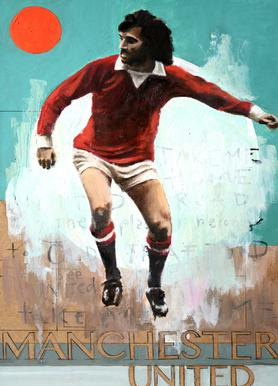 One Love - Manchester United Canvas Print