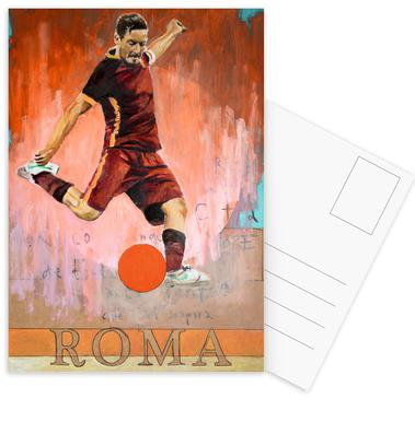One Love Roma Postcard Set