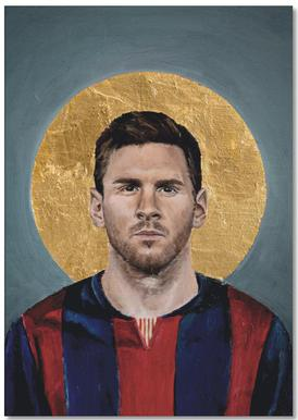 Football Icon - Lionel Messi Notepad