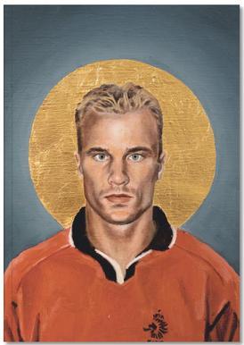 Football Icon - Denis Bergkamp Notebook