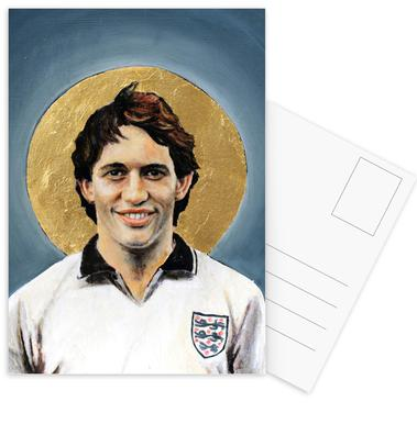 Football Icon - Gary Lineker Postcard Set
