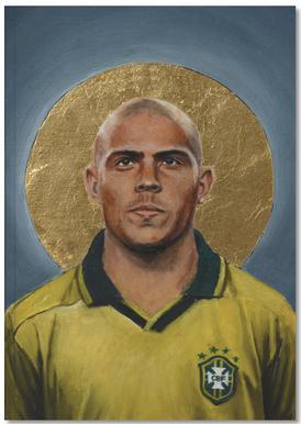 Football Icon - Ronaldo Notebook