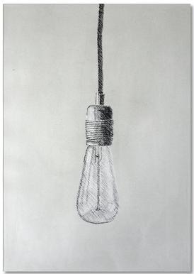 Profond - Light Bulb Notepad