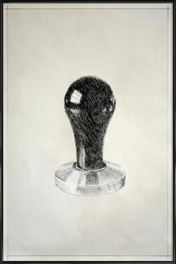 Profond - Tamper Framed Poster