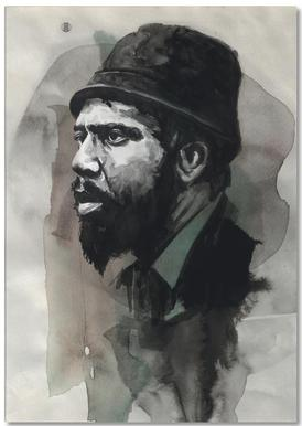 Thelonious Monk Notepad