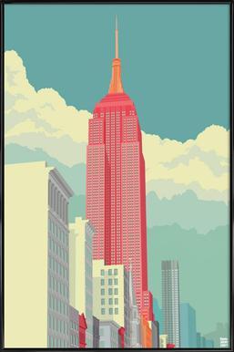 5th Avenue New York City - Poster im Kunststoffrahmen
