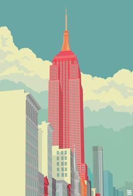 5th Avenue New York City -Alubild