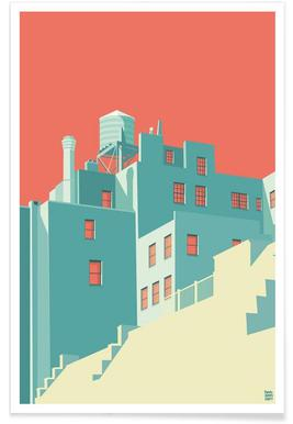 The Village New York City - Poster