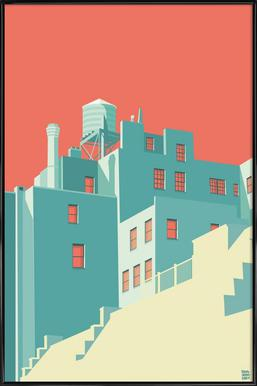 The Village New York City - Poster in Standard Frame