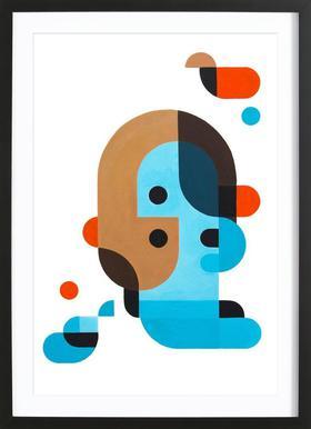 Me, Myself, and I Framed Print