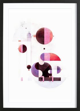 Rainbow Swinger ingelijste print