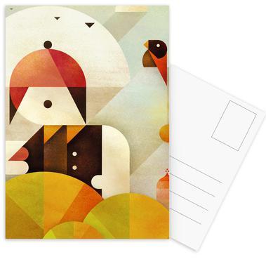 Birdman -Postkartenset