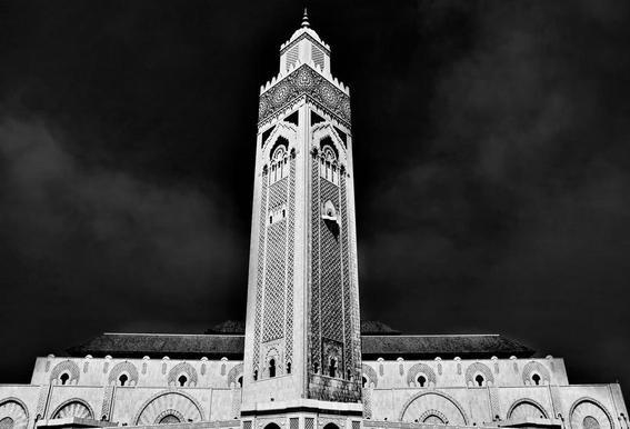 Hassan II Mosque 2 -Acrylglasbild