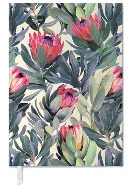 Painted Protea Pattern -Terminplaner