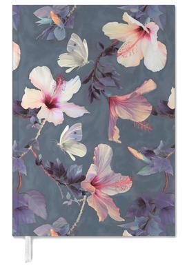Butterflies & Hibiscus Flowers Personal Planner