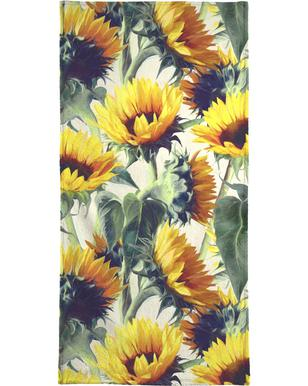 Sunflowers Forever Bath Towel