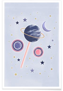 Lollipop Planet poster