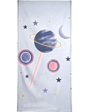 Lollipop Planet Bath Towel