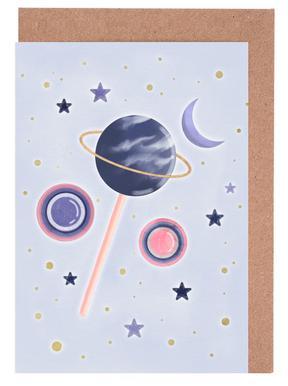 Lollipop Planet Greeting Card Set