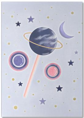 Lollipop Planet Notepad