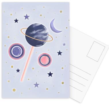 Lollipop Planet ansichtkaartenset