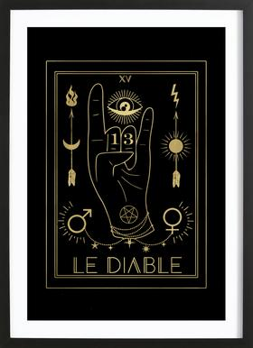 Le Diable Framed Print