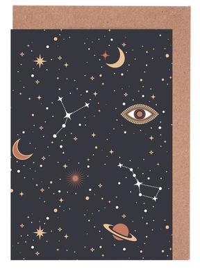 Mystical Galaxy Greeting Card Set